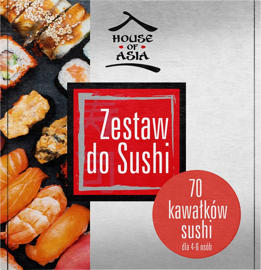 Zestaw do Sushi - House of Asia