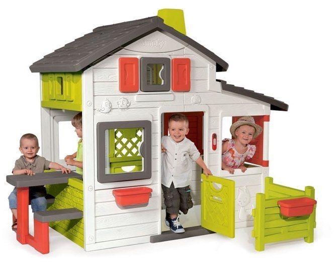 Smoby Domek Ogrodowy dla dzieci Friends House Floralie wysoki