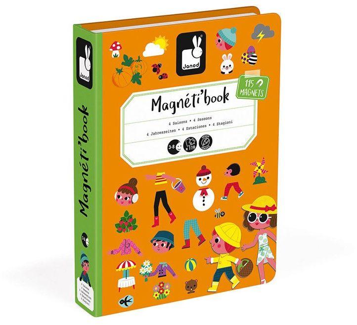 Puzzle magnetyczne dla dzieci świat przyrody J02721-Janod, układanka magnetyczna