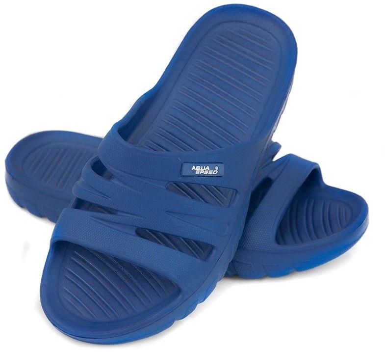 Klapki basenowe AquaSpeed Vena 01 niebieskie Rozmiar buta: 29