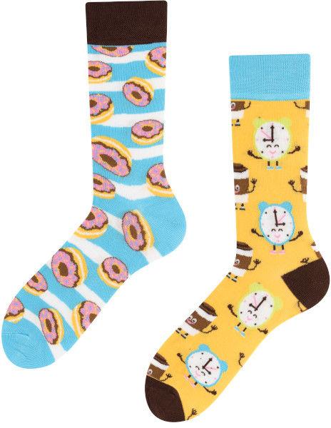 Donut Heaven, Todo Socks, Kawa, Pączki, Kolorowe Skarpety