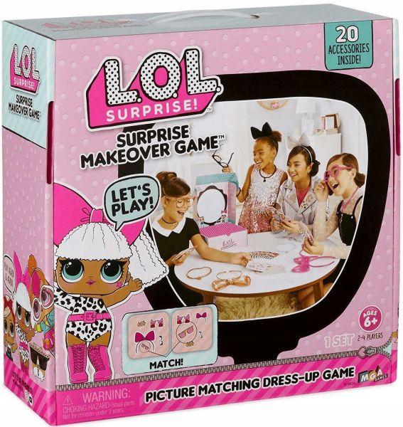 L.O.L. Surprise! Makeover Game ZAKŁADKA DO KSIĄŻEK GRATIS DO KAŻDEGO ZAMÓWIENIA