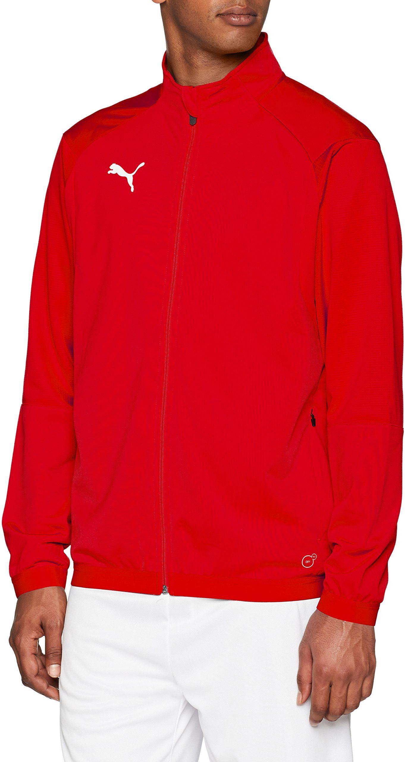 PUMA Męska kurtka treningowa Liga czerwony Puma Red-Puma White XL