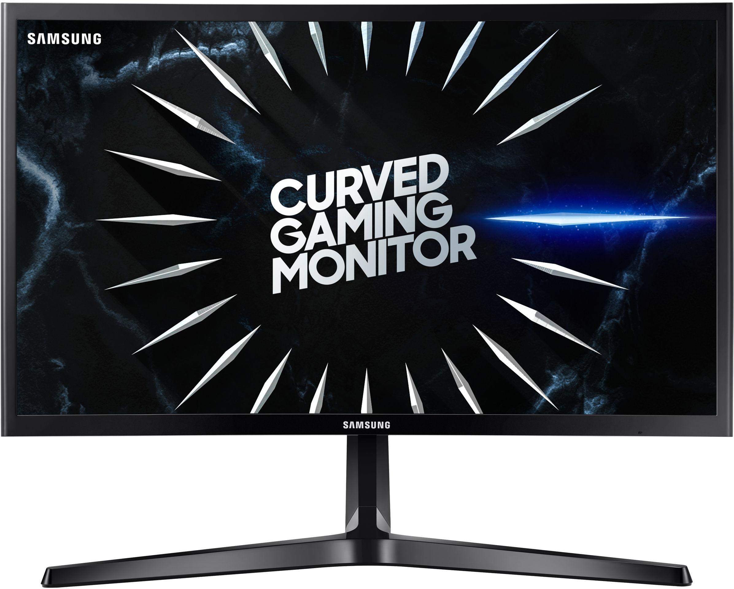 "Samsung C24RG50FQR 59,7 cm (23.5"") 1920 x 1080 px Full HD Czarny"