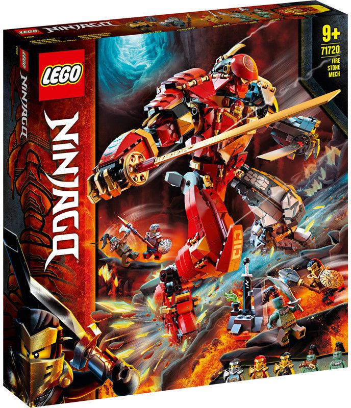 LEGO Ninjago - Mech z ognia i kamienia 71720