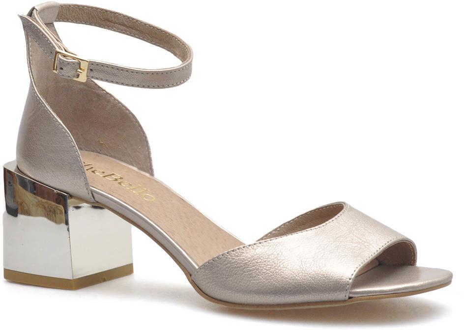 Sandały CheBello 2495-046 Złote lico