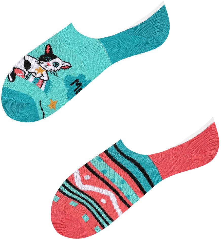 Mikrostopki, Cats, Todo Socks, Kot, Kaktus, Kolorowe Skarpetki