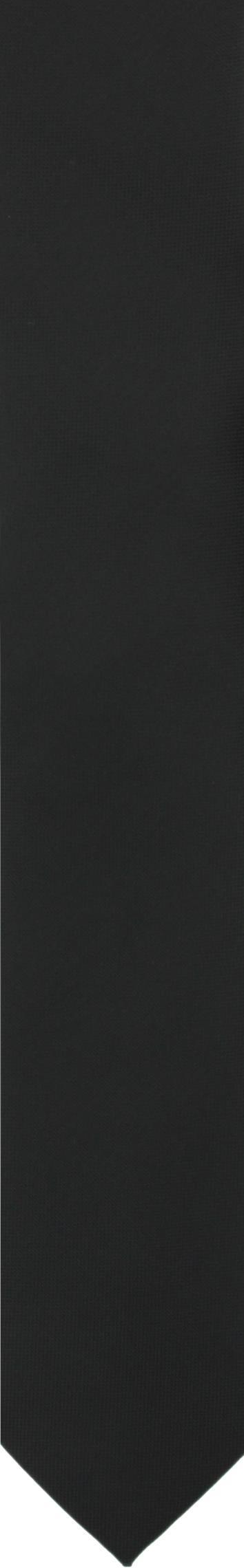 krawat platinum czarny classic 200