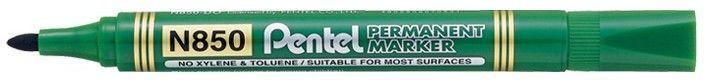 Marker Pentel N850 - Zielony (zaokrąglona końcówka)