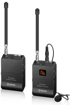 Boya BY-WFM12 - zestaw bezprzewodowy audio Boya BY-WFM12