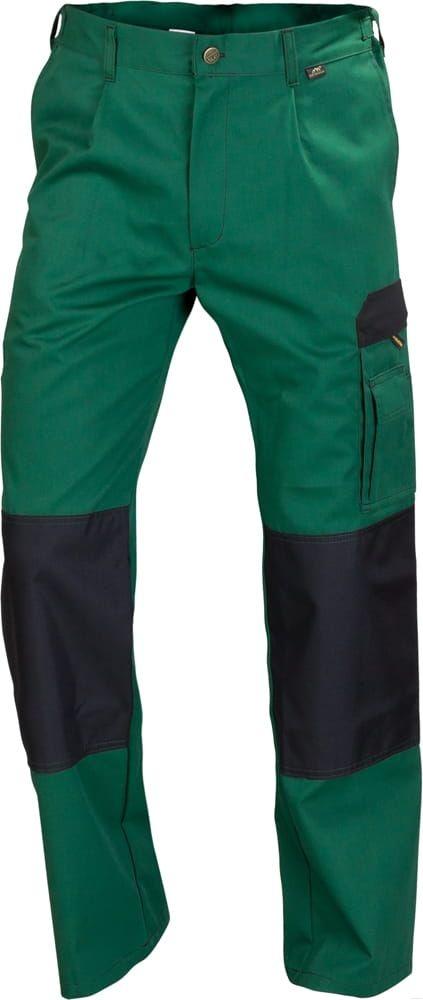 Spodnie do pasa WORK zielone