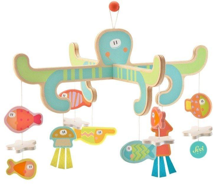 Karuzela do łóżeczka Morskie zwierzątka 83035-Sevi, zabawki dla niemowląt
