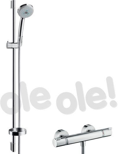 Croma 100 Hansgrohe zestaw prysznicowy Multi/Ecostat Combi - 27085000 Darmowa dostawa