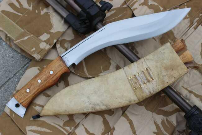 Prof nóż Gurkhów khukri misja Afganistan EKH-GACI-19
