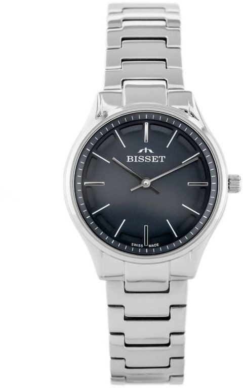 ZEGAREK DAMSKI BISSET BSBE67 - silver/grey (zb557b)