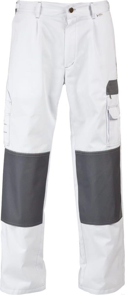 Spodnie do pasa WORK białe