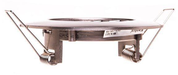 Oprawa punktowa 1x50W IIIkl. 12V IP20 LUTO CTX-DS02B-C/M chrom matowy 02583