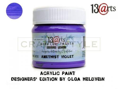 Farba akrylowa 50 ml Amethyst Violet