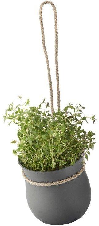 Rig tig - doniczka na zioła - szara