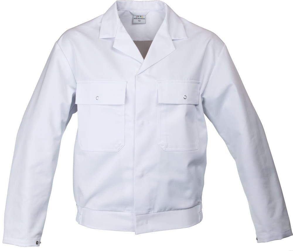 Bluza do pasa biała 3015