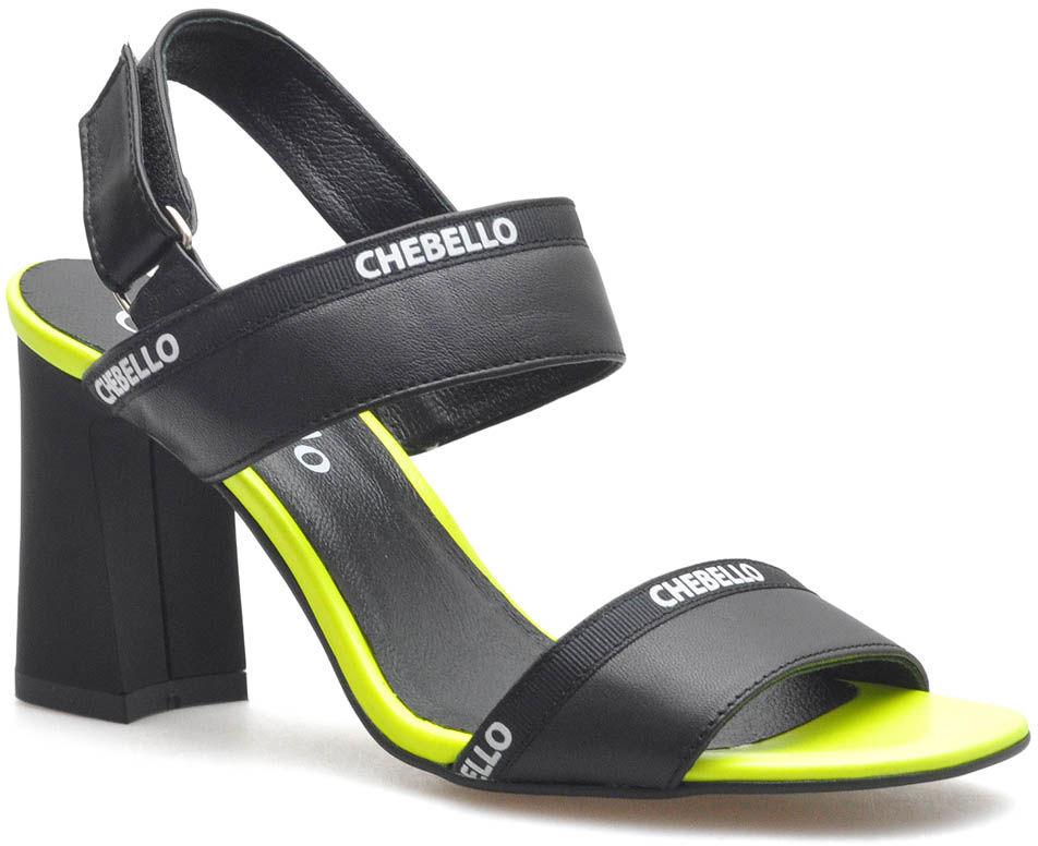 Sandały CheBello 2467-160-178 Czarne lico