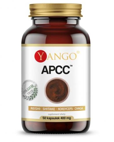 APCC  - reishi, kordyceps, shitake, chaga - 50 kaps. Yango