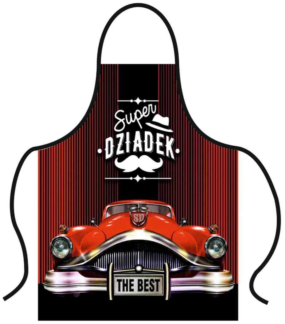 Fartuch kuchenny Premium Super Dziadek
