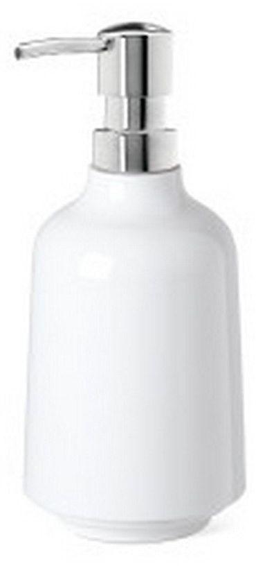 Umbra - dozownik do mydła step, biały - biały
