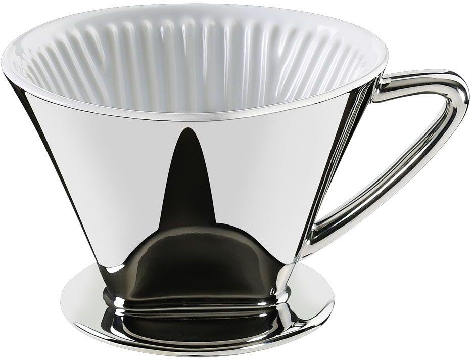 Drip do kawy rozm. 4 (kolor srebrny) Cilio