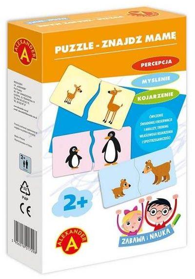 Zabawa i Nauka - Puzzle Znajdź mamę ALEX - Alexander