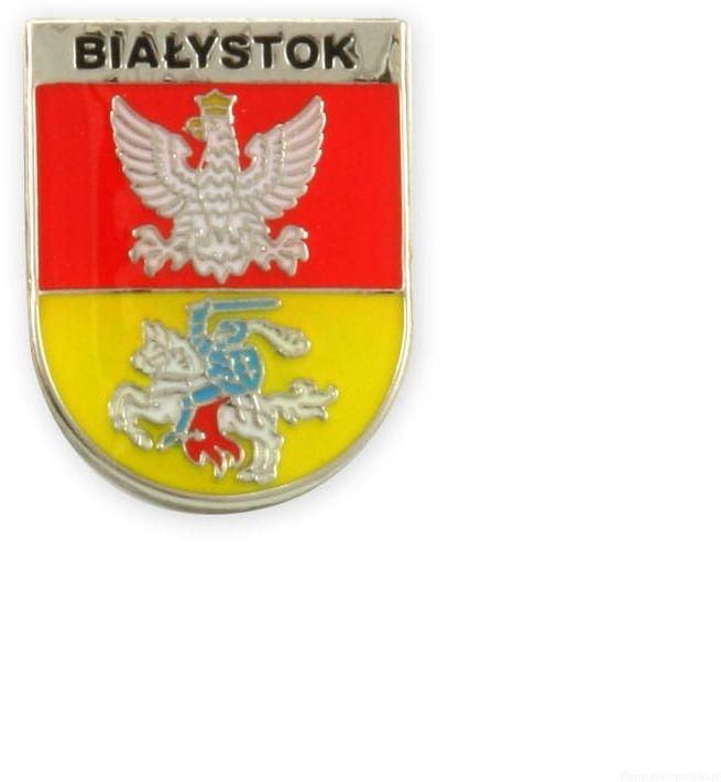 Herb Białystok - przypinka