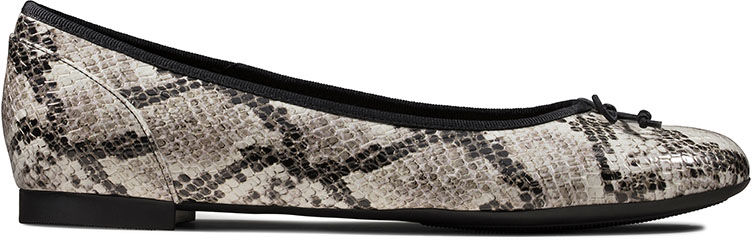 Baleriny damskie Clarks Couture Bloom szare261505774