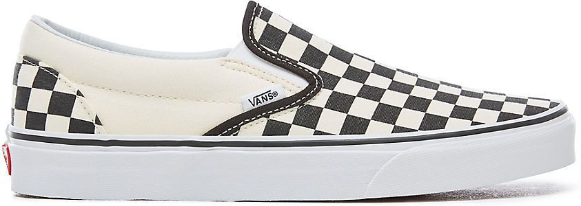 obuwie VANS CLASSIC SLIP-ON Black and White Checker/White