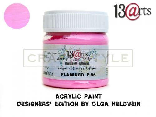 Farba akrylowa 50 ml Flamingo Pink