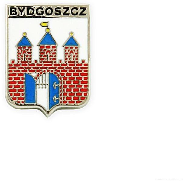 Herb Bydgoszcz - przypinka