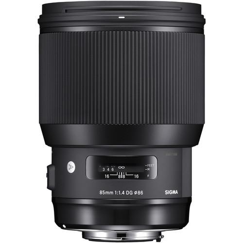Sigma A 85mm F1.4 DG HSM - obiektyw stałoogniskowy do Canon Sigma A 85mm F1.4 DG HSM / Canon
