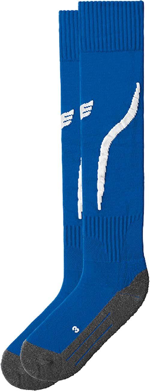 Erima Tanaro skarpety do pończoch niebieski Blau (new royal/weiß) 44-46 (Herstellergröße:4)