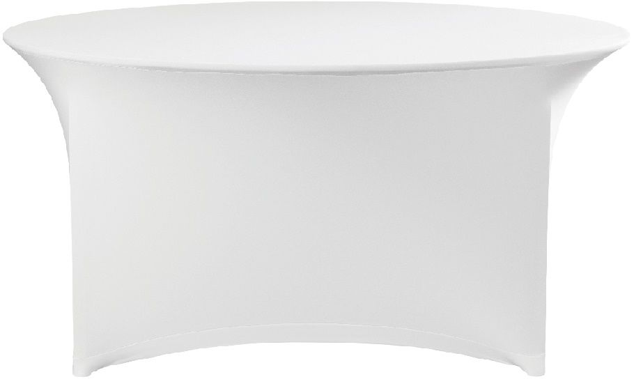 Obrus okrągły SYMPOSIUM biały