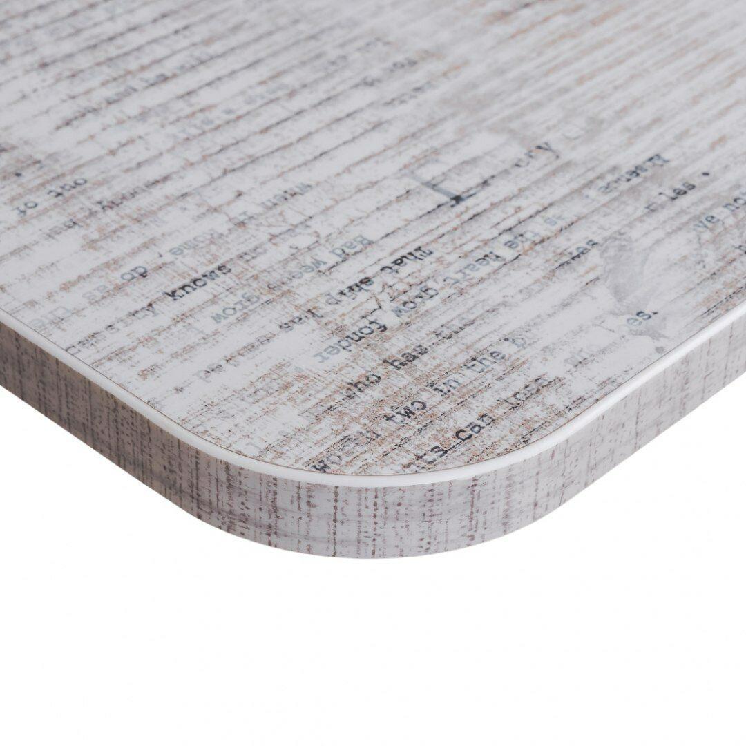 Blat biurka uniwersalny 160x80x1,8 cm Enigma