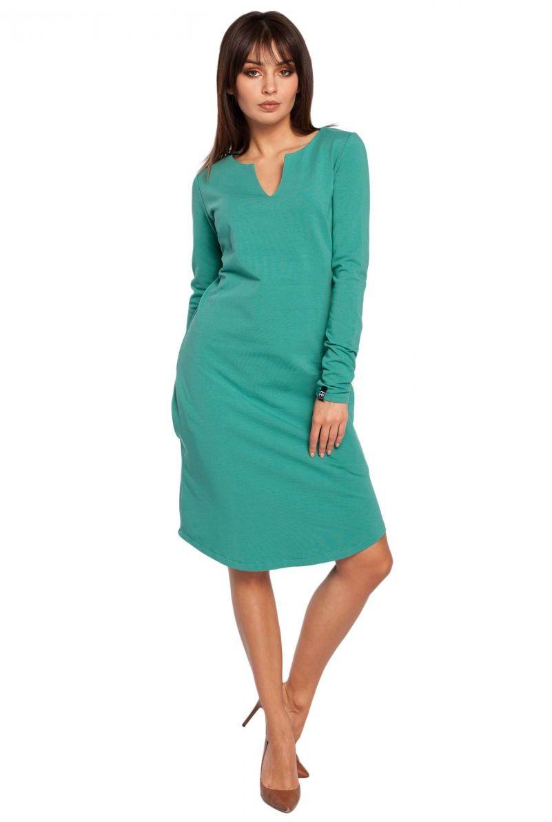 B017 sukienka zielona