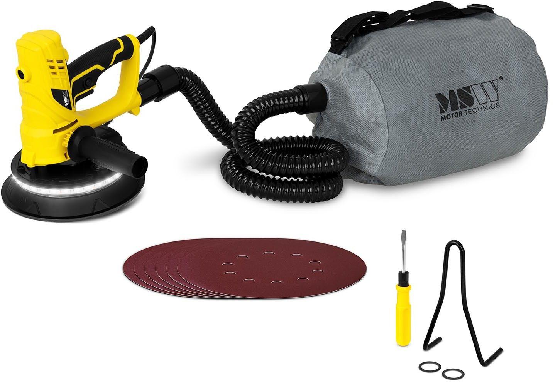 Szlifierka do gipsu - 850 W - worek na pył - MSW - MSW-DWS850WL - 3 lata gwarancji/wysyłka w 24h