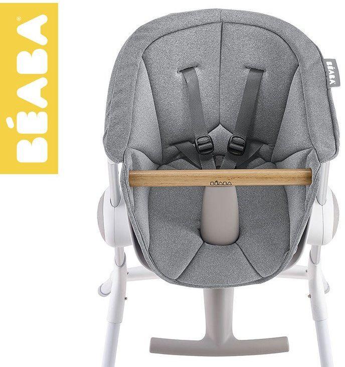 Beaba Miękki wkład do Krzesełka do karmienia Up&Down grey 912554- Beaba, posiłki malucha