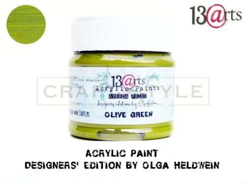 Farba akrylowa 50 ml Olive Green