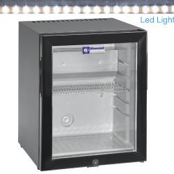 Minibar drzwi szklane 32L 70W 230V +4  +10  402x406x(H)500mm