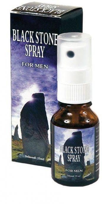 Black Stone - Delay Spray Opóźniający Wytrysk 15ml 100% ORYGINAŁ DYSKRETNA PRZESYŁKA