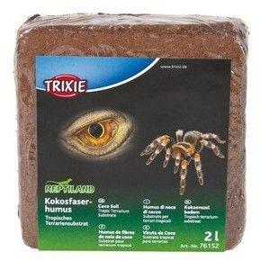 TRIXIE Podłoże Humus z włókien kokosa prasowanego 2 l / 160 g