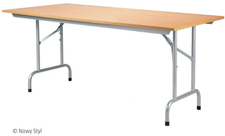 Stół konferencyjny składany RICO TABLE-3 ALU (180x80 cm) Nowy Styl