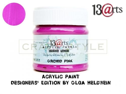 Farba akrylowa 50 ml Orchid Pink