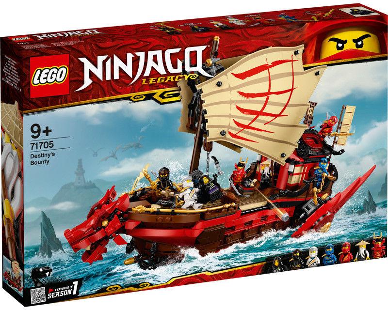 LEGO Ninjago - Perła Przeznaczenia 71705