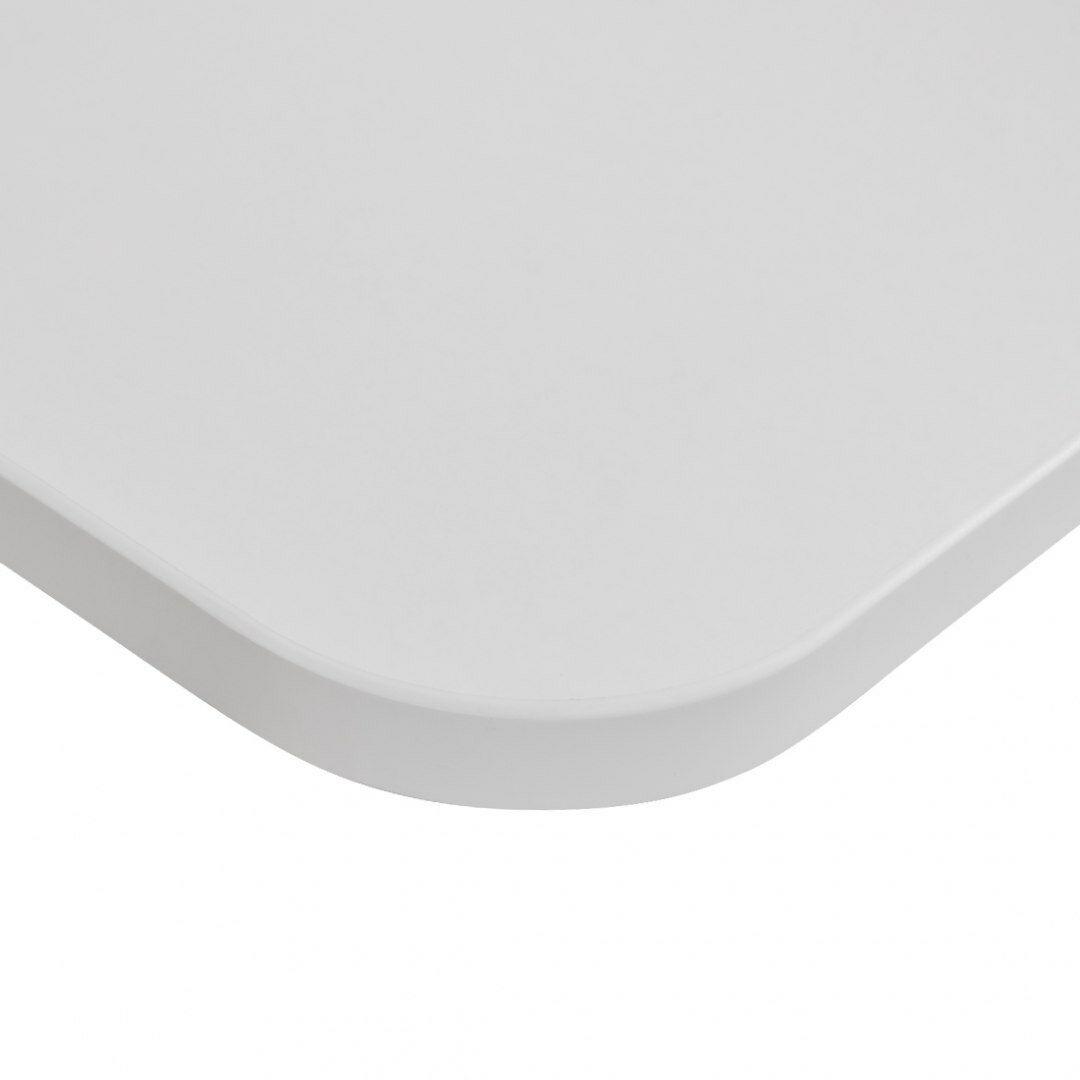 Blat biurka uniwersalny 138x70x1,8 cm Biały